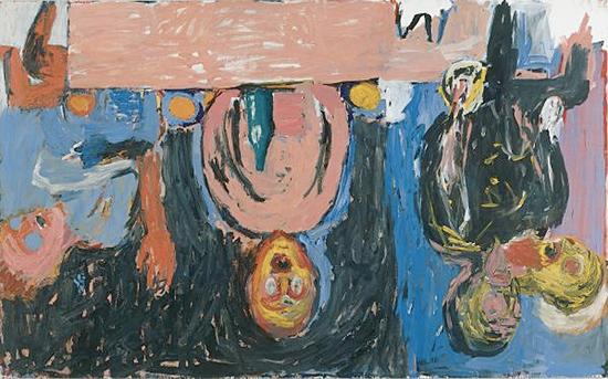 Baselitz, georg Baselitz, BMC, bmc, art maniac, BASELITZ, Georg BASELITZ?expressionneisme, exptessionnisme allemand, peinture informelle, Le peintre bmc,