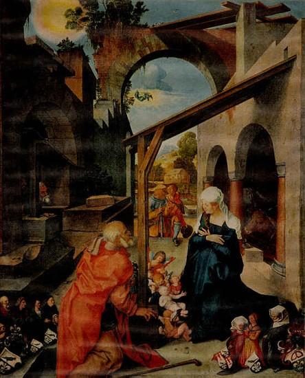 naissance du christ, durer,peinture,