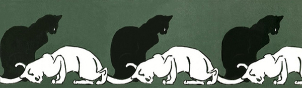 les chats,steinlein,peintures de chats,
