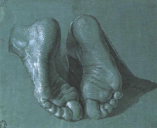 durer,les pieds,albrecht durer,