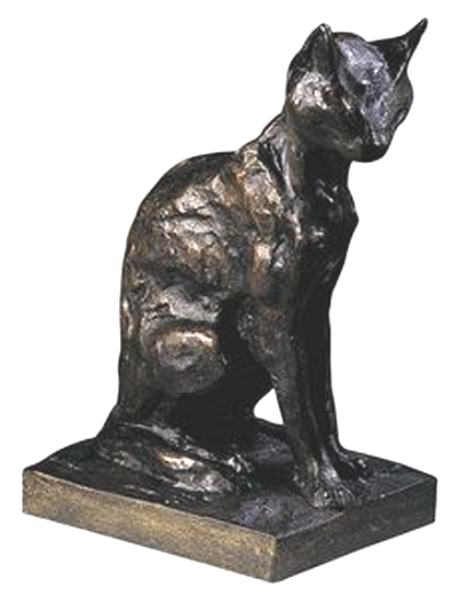 sculpture de steinlein,chat,chats,