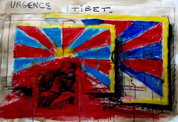 tibet libre,dalaï lama,