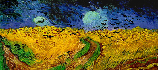 van gogh,le champ de blé,