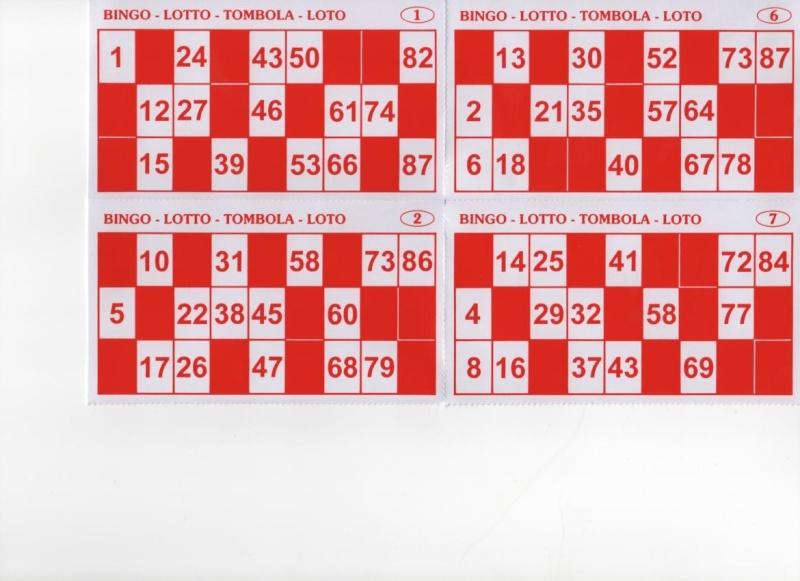 Carton - Grille de bingo a imprimer gratuit ...