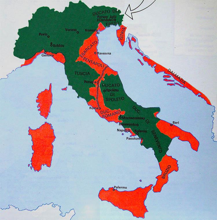 La grande espansione araba nell'alto medioevo