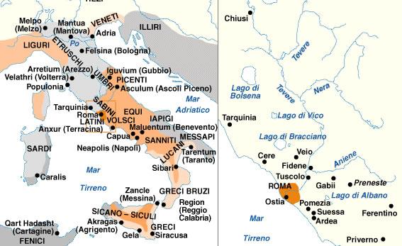 Atlante storico il mondo romano viii a c v d c - Lettere unipa portale ...