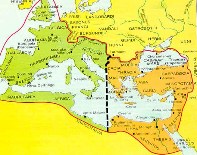 La caduta dell'impero romano d'Occidente - INFODIT