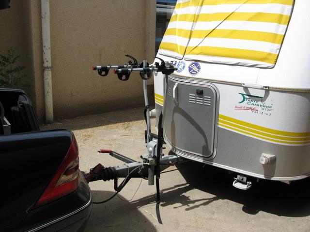 Dissertation Support Group Atlanta - Porte vélo caravane sur flèche