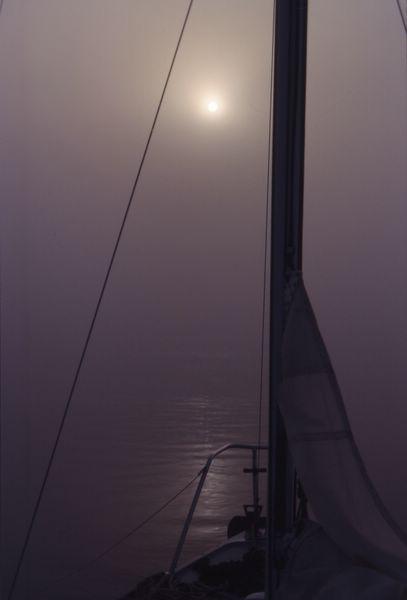 Bateau brouillard