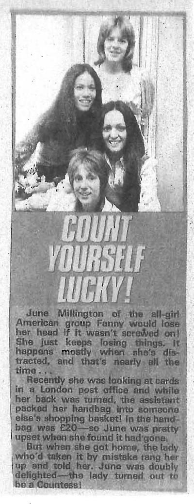 Lucky Fanny