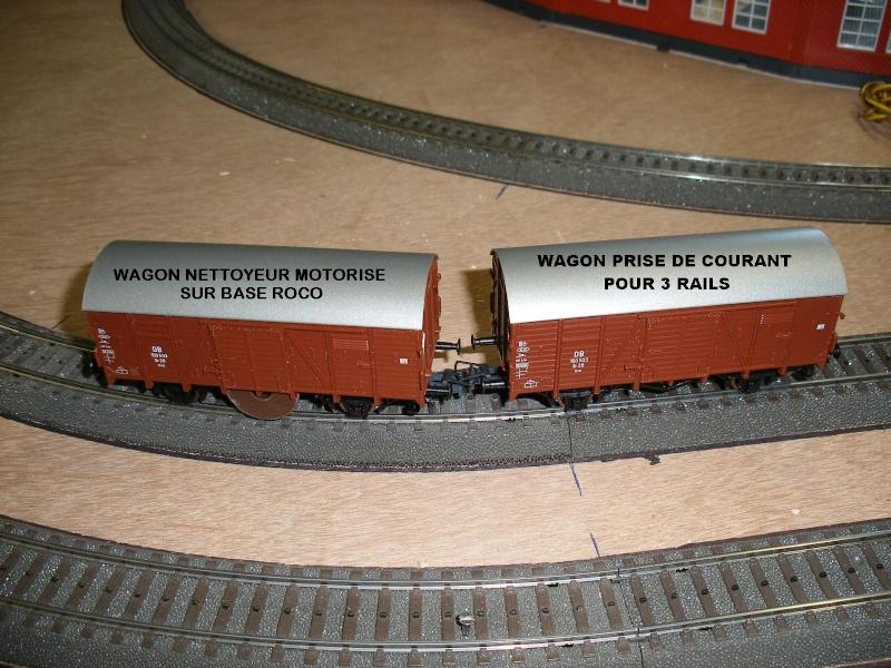 train wagon nettoyeur échelle z