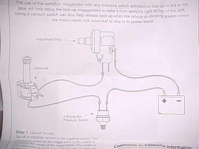 200r4 tranny wiring