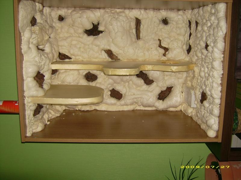 Fond terrarium joko mat riel terrariophile installations le monde des reptiles - Decor fond terrarium desertique ...