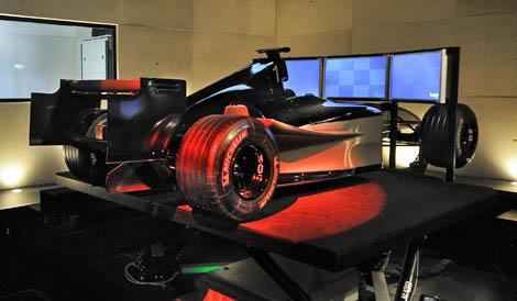 F Race Car Simulator Session