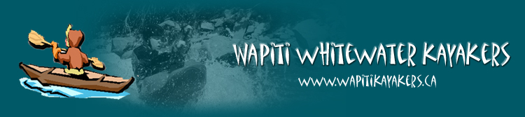 Wapiti Whitewater Kayakers