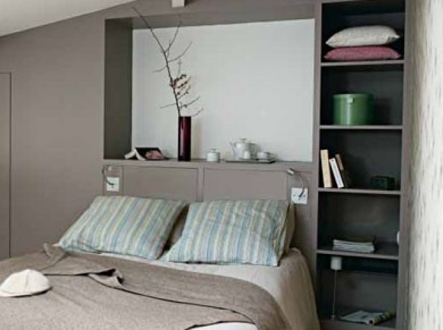la chambre parentales agencement installation d 39 un dressing et couleur. Black Bedroom Furniture Sets. Home Design Ideas