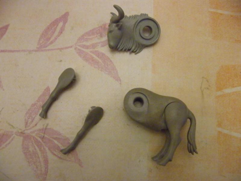 R parer des animaux playmobil - Enlever de la super glue ...