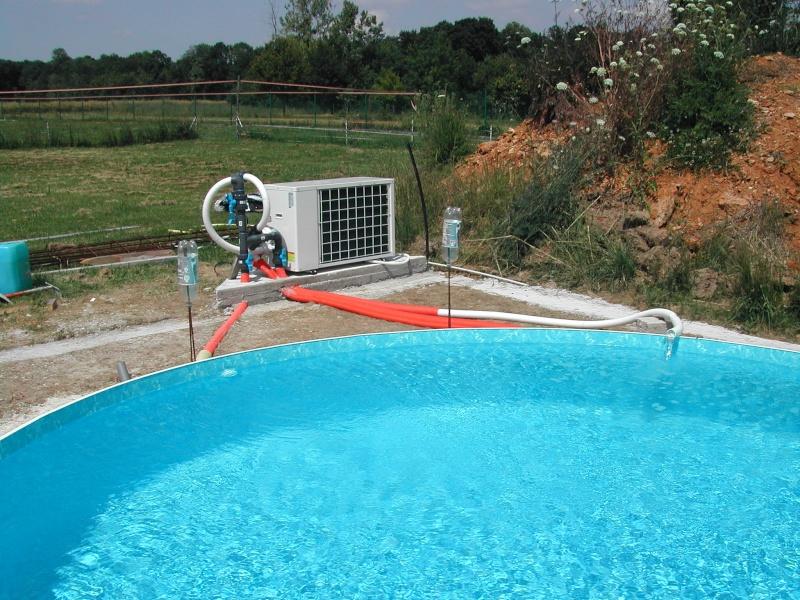 Pose d 39 une pompe chaleur paulo 17 - Pose pompe a chaleur piscine ...