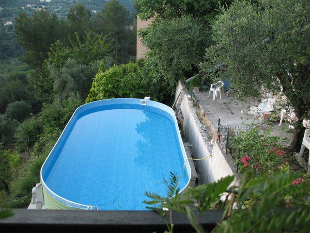 Projet piscine 2010 for Piscine hors sol terrain en pente