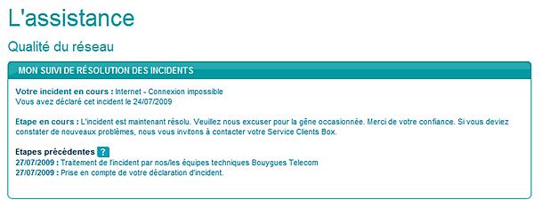 numéro service client bouygues télécom
