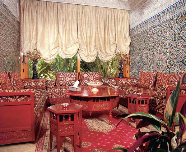 for Sala de estar estilo arabe