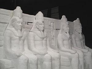 Esculturas en hielo y nieve