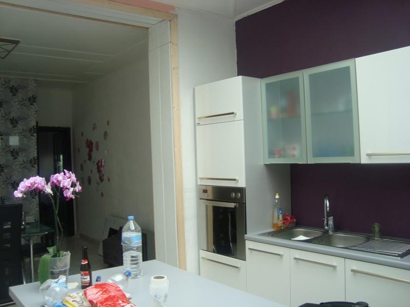 Id es couleurs pour ma cuisine et ma chambre coucher for Cuisine mur aubergine