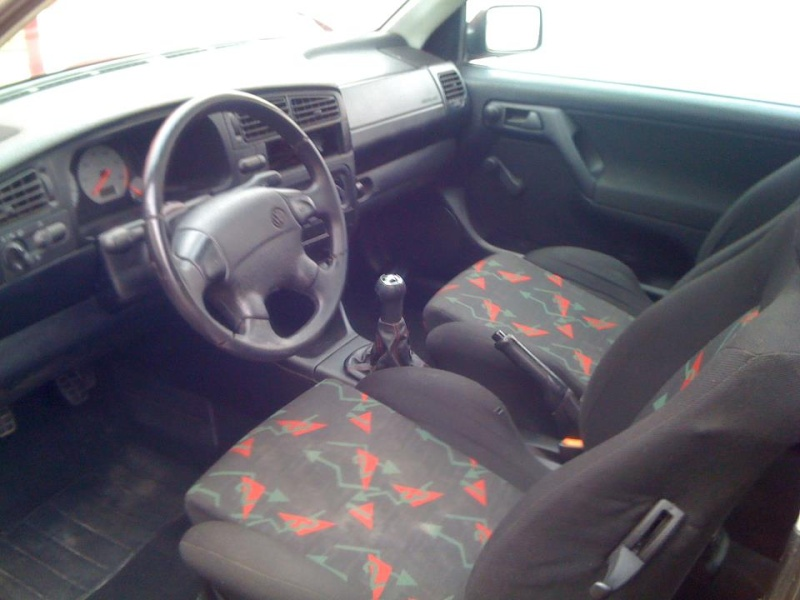 Vw golf 3 1 6 57 restauration by tony for Interieur golf 3