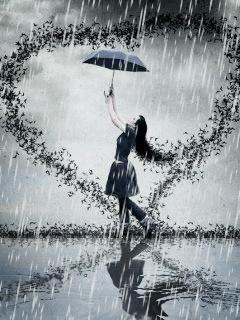 Un parapluie plein de soleil dans LES 4 SAISONS 57bb8310