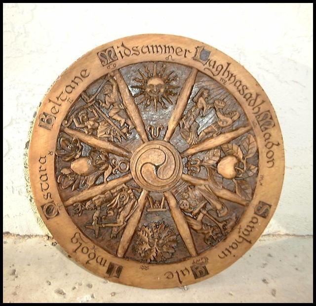 La roue des saisons dans LES 4 SAISONS 7nngh510