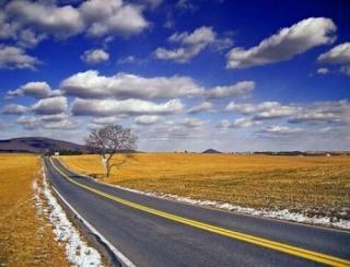 Sur la route de la vie dans CHANSONS route-10