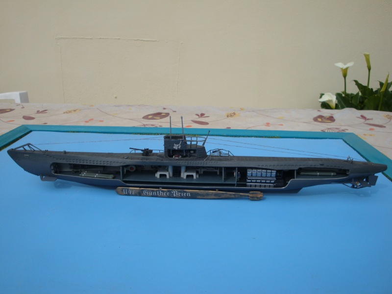 Revell 1/125 German U-boat U-47