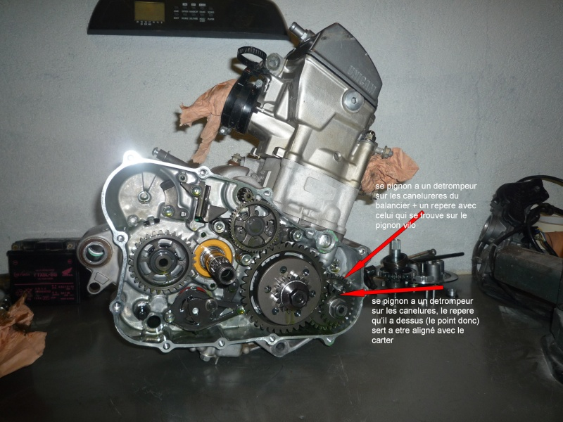 Calage Honda Crf Probleme Point Mort Haut Page 2