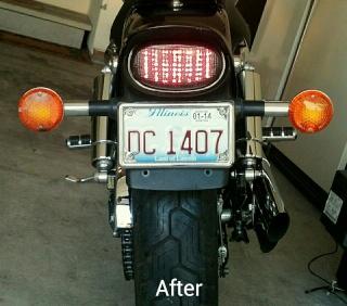 Led tail light hook up
