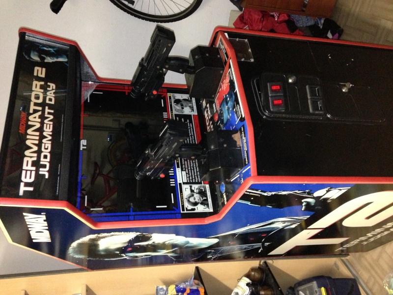 borne arcade terminator 2 a vendre