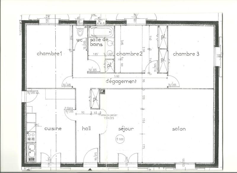 Conseils peinture couloir trop troit trop long trop - Plan maison sans couloir ...