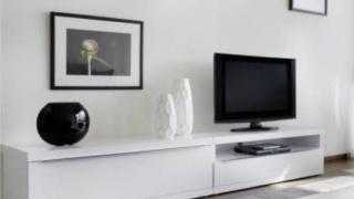 Conseil futur salon s m am nagement peintures - Meuble tv fly serie ...